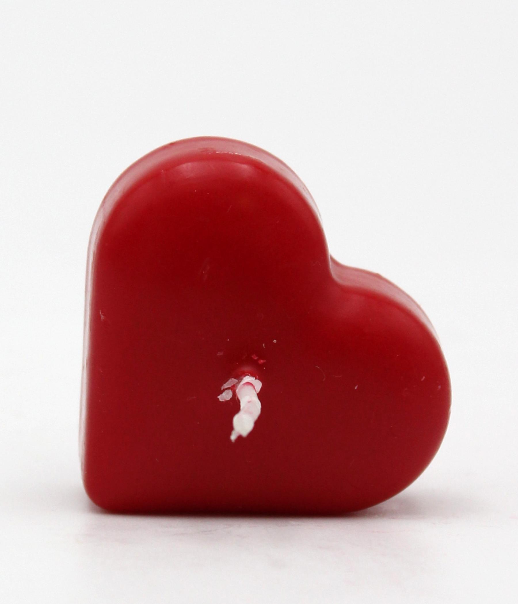 Candela cuore - linea GALLEGGIANTI