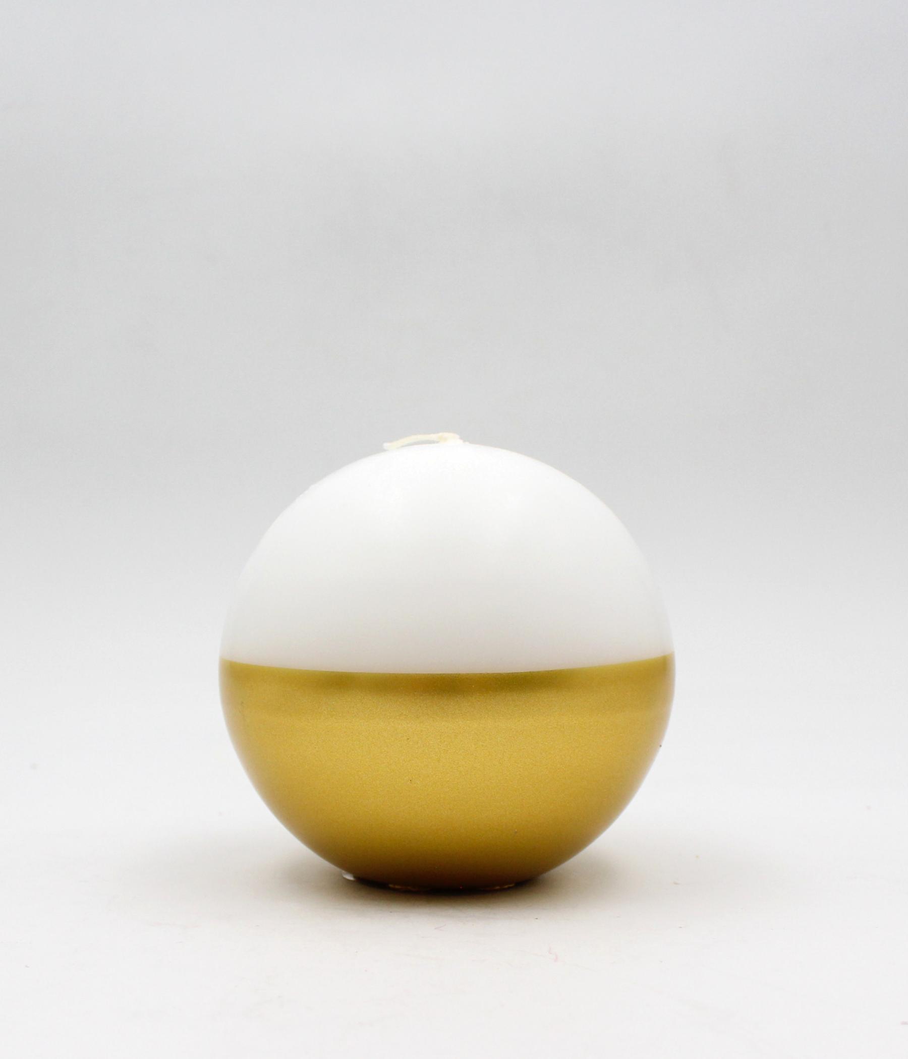 Candela sfera riga oro