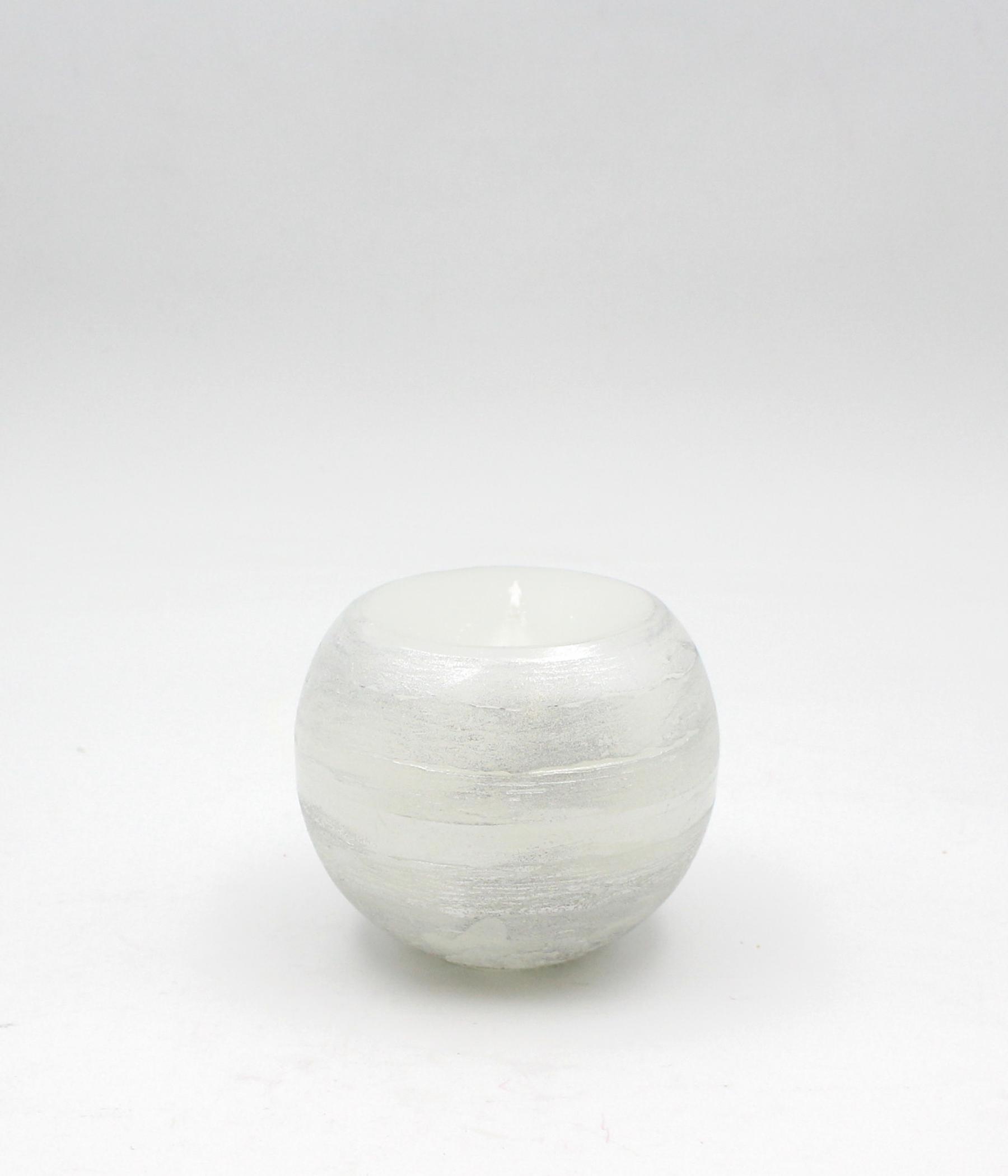 Candela sfera spugnata