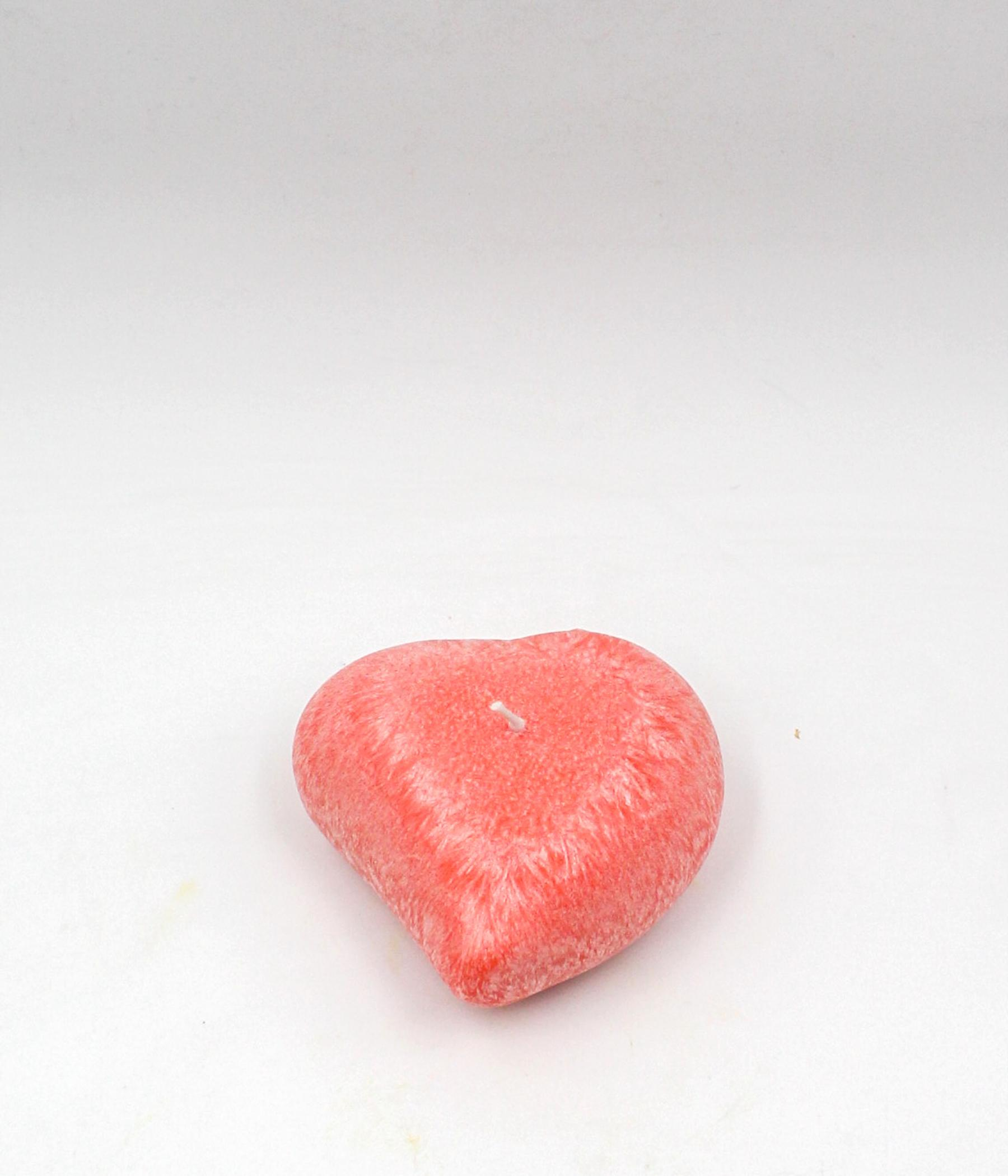 Candela cuore palm wax