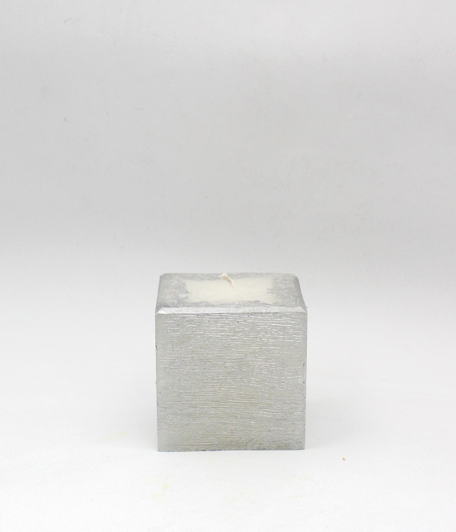 Candela cubo - linea NATALE