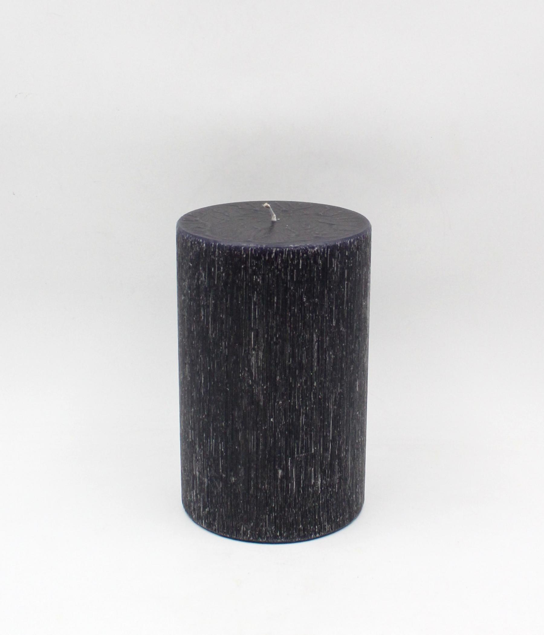 Graffiata candela cilindrica