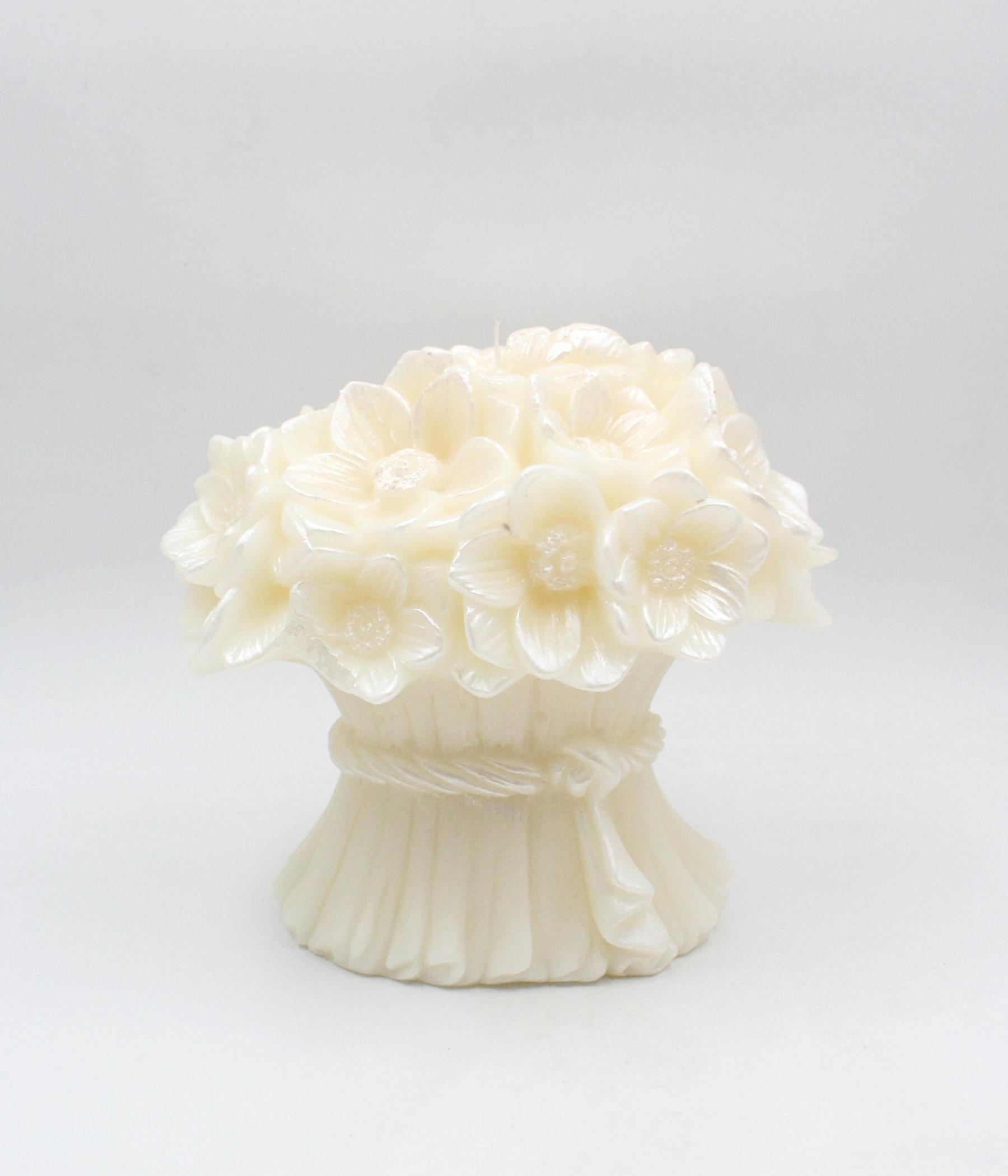 Stylnove candela mazzo fiori
