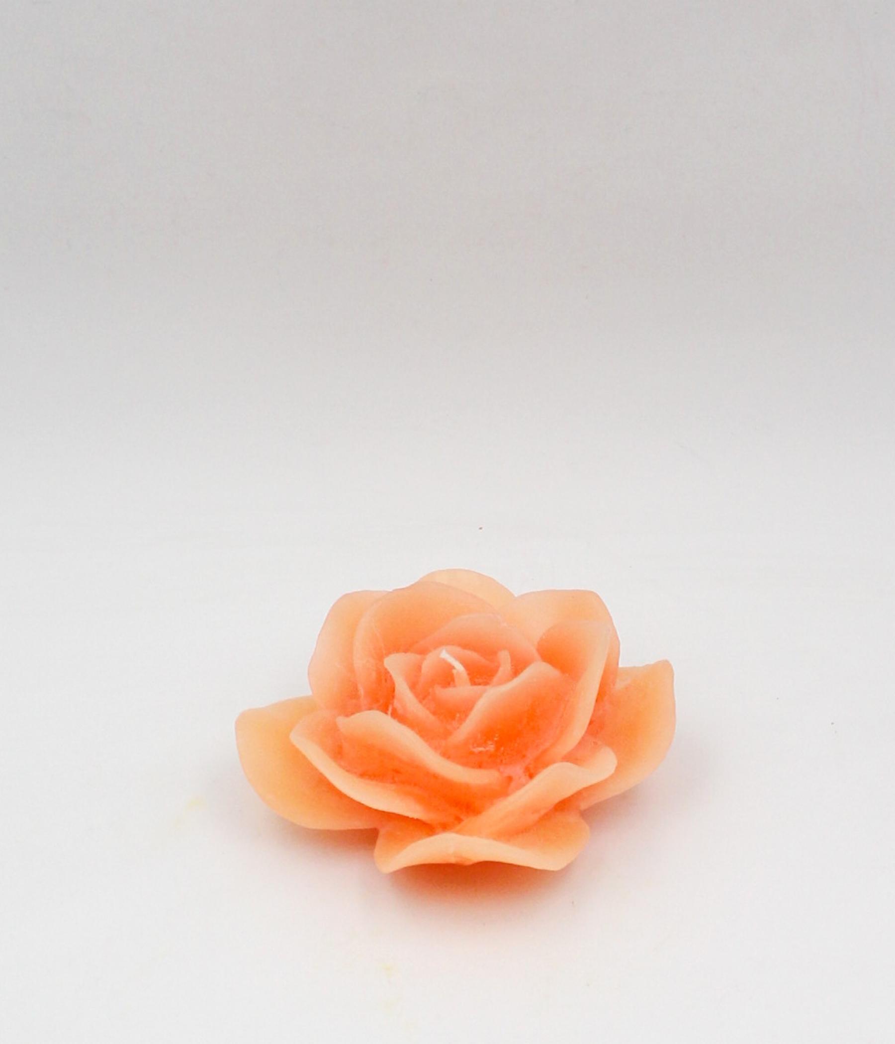 Candela rosa galleggiante