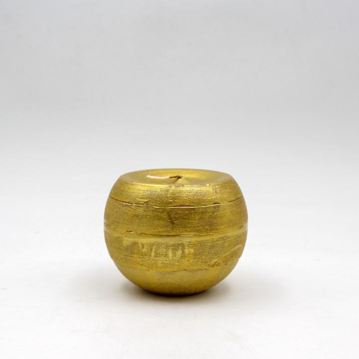 Candela sfera oro