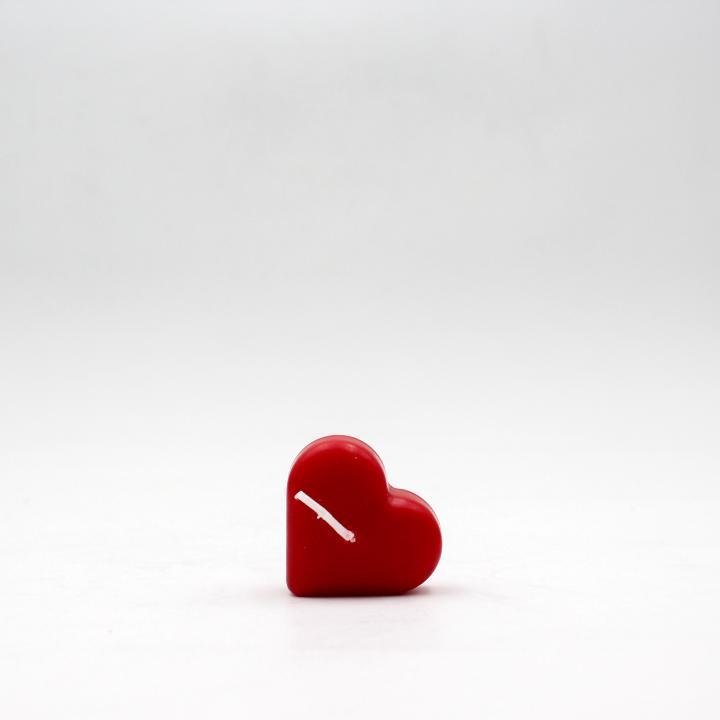 Candela galleggiante cuore