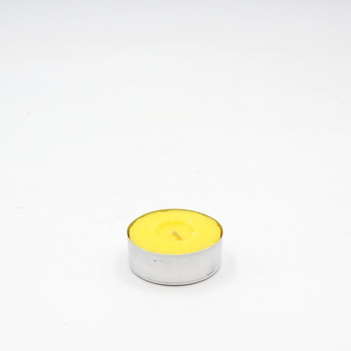 Maxitealights pressate alla citronella