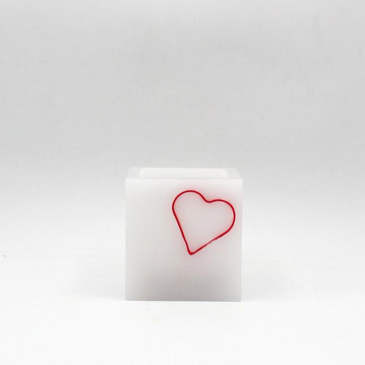 Abat-jour con cuore