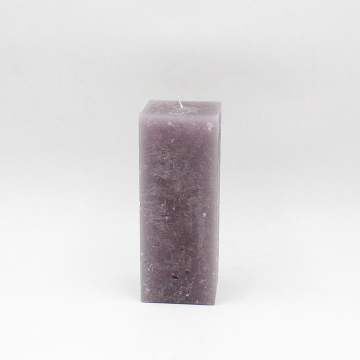 Marmorizzata candela quadrata rustica