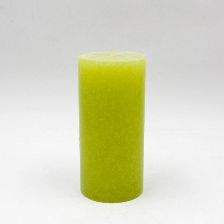 Marmorizzata candela cilindrica