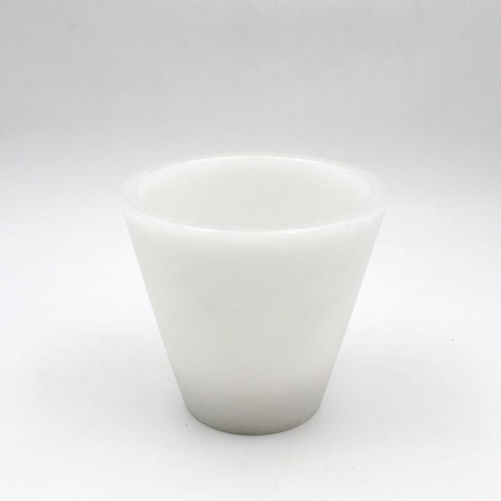 B&W vaso in cera