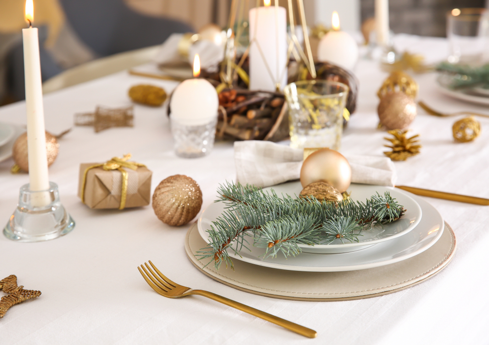 candela centro tavola