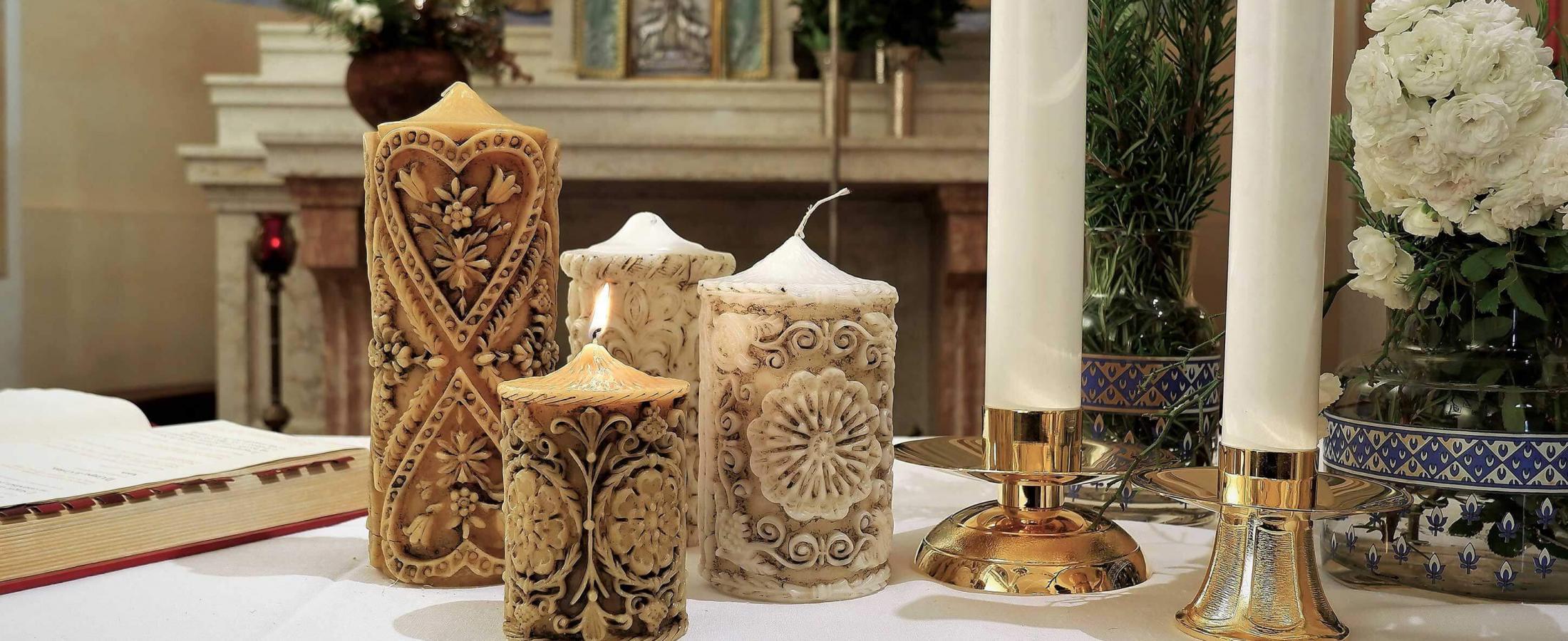 Candele liturgiche